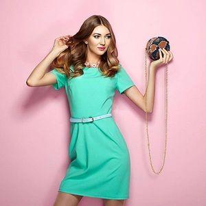 Handbags - Snakeskin Faux Leather Round Handbag